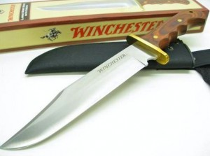 winchester knife with sheath and box