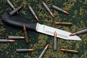 Best fighting knives soldiers marines