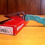 delica4 spyderco pocket knife