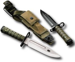 photo of the m9 bayonet