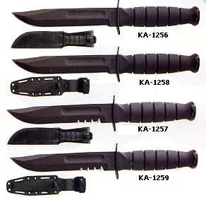 Kabar knives are the best and most popular combat knife of all time.