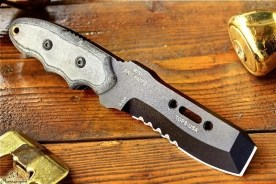 This knife is great for urban survival.